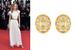 Актриса Лили Роуз Депп в серьгах Chanel из коллекции Les Talismans de Chanel из желтого золота
