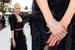 Актриса Николь Кидман в серьгах, браслете и кольцах Harry Winston из бесцветных бриллиантов и платины