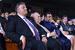 Премия «Аврора» была задумана и создана американским предпринимателем Нубаром Афеяном, президентом корпорации Карнеги в Нью-Йорке Вартаном Грегоряном и российским предпринимателем Рубеном Варданяном