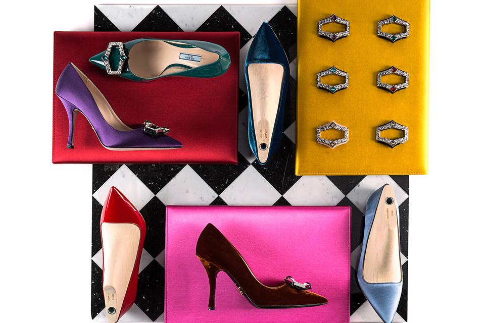 Набор кастомизированной обуви от Prada