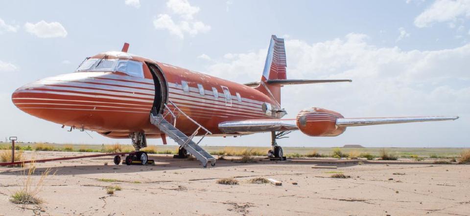 Самолет Lockheed JetStar 1962