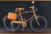 Велосипед Trussardi, украшенный деталями из натуральной кожи
