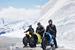 Участники «электротрофи» Johammer в Альпах