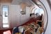 Продуманы все элементы для удобного  проживания: полы с подогревом, Wi-Fi, панорамные окна в номерах и  отдельное отапливаемое помещение для сушки одежды и снаряжения