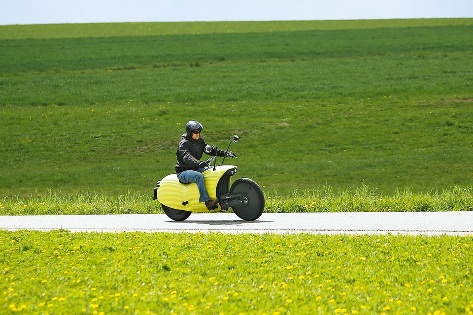 Образцом для модели Johammer явно послужили мотоциклы 1920-х годов