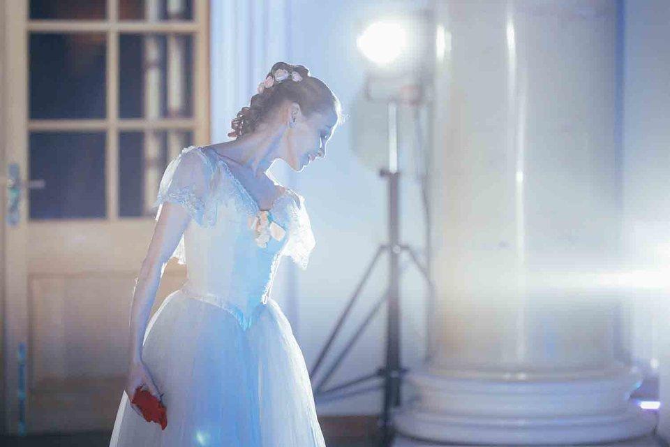 Анастасия Сташкевич, прима балерина Большого театра, в балете «Видение розы»