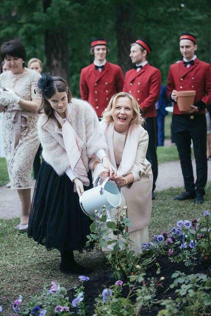 Арина Орлова и Татьяна Торчилина, директор  бутика Cartier на Кузнецком Мосту