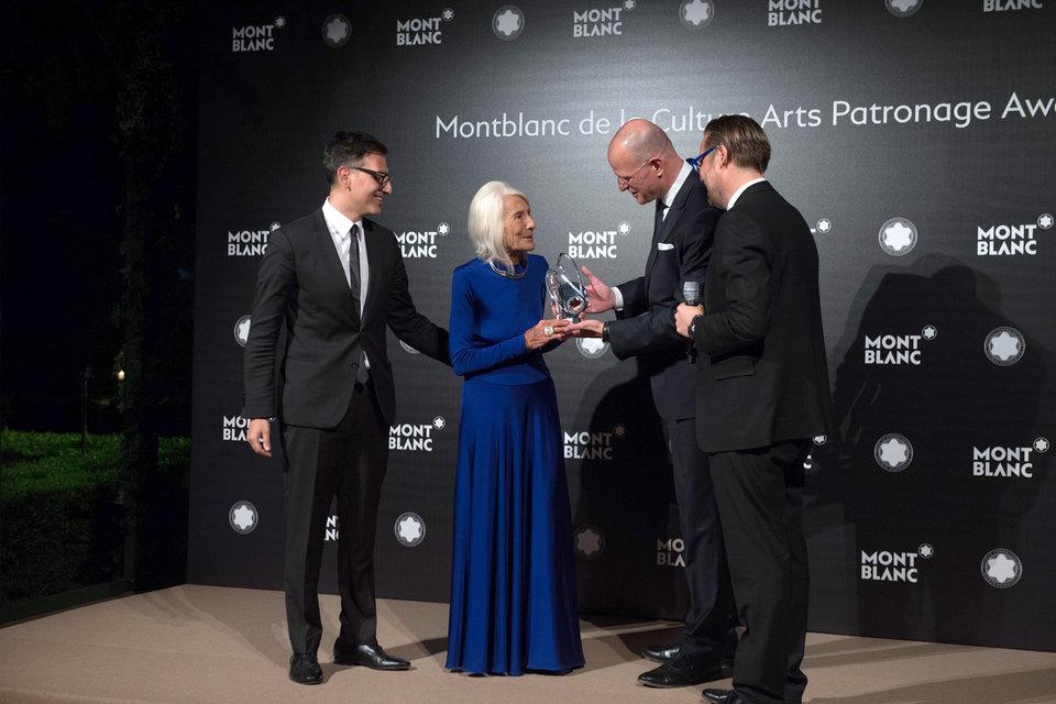 Галерист Соледад Лоренцо получает престижную награду Montblanc de la Culture Arts Patronage