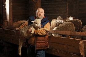 Александр Почепцов, владелец фермы