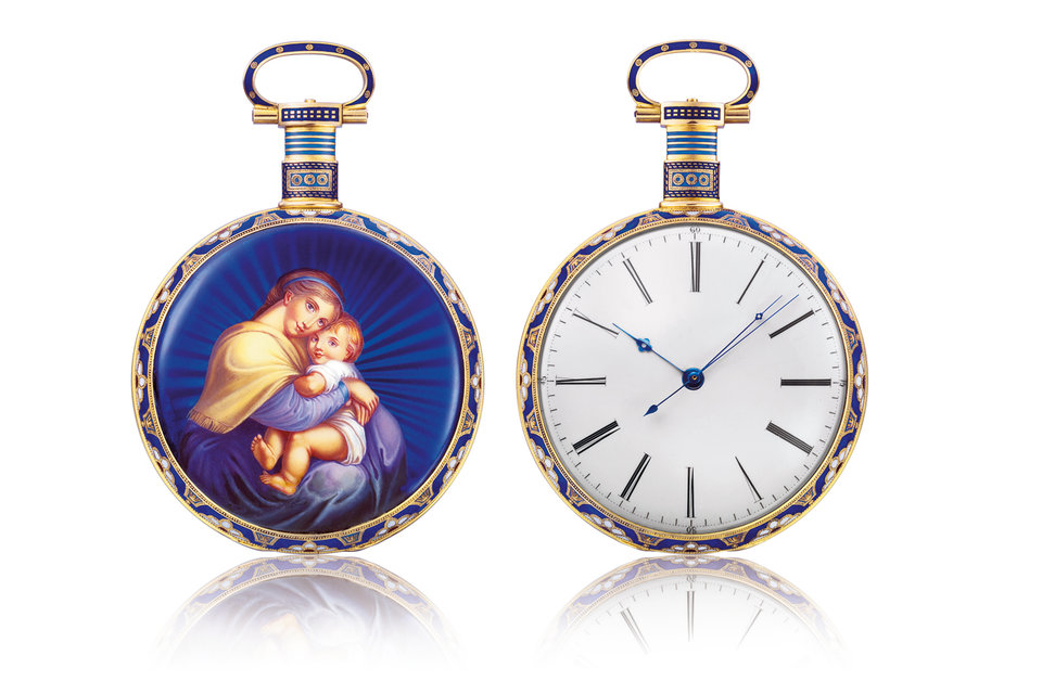 Карманные часы Bovet Fleurier «Мадонна» 1830 г. из личной  коллекции Паскаля Раффи