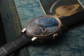 Часы Recital 20 Asterium Astronomy, новинка 2017 года демонстрируют ночное небо над Землей, фазы Луны и знаки Зодиаков