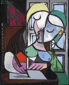 Портрет Мари-Терез Вальтер кисти Пабло Пикассо оценен экспертами аукционного дома в £25-40 млн