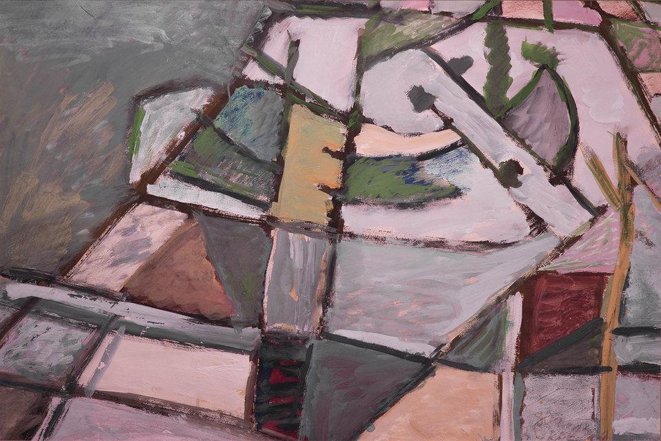 Владимир Яковлев. Абстрактная композиция, 1978 год