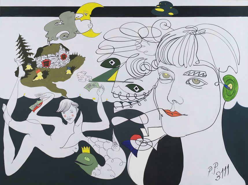 «Барон де Бур и Ксения» из серии «Воскрешение Пабло Пикассо в 3111 году», 2016 год