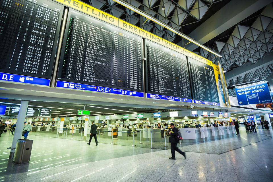 Международный аэропорт Франкфурта занял 10-е место в рейтинге