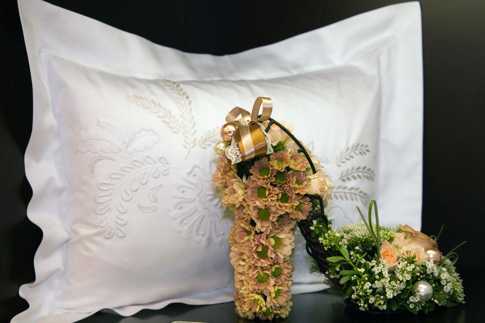 Из коллекции постельного белья Yves Delorme Couture