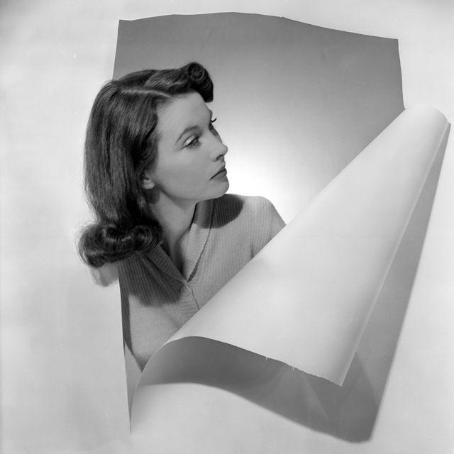 Вивьен Ли была одной из самых красивых женщин своего времени. 1941 год, портрет фотографа Сесила Битона