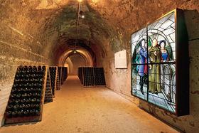 Погреба в резиденции Дома шампанских вин Taittinger были вырыты в IV веке