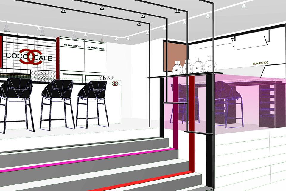 46b61eec558e Каждую неделю заглянувших в Coco Café ждет насыщенная программа. Chanel