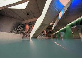 Холлы фрипорта в Люксембурге украшены работами португальского стрит-арт-художника Вилса
