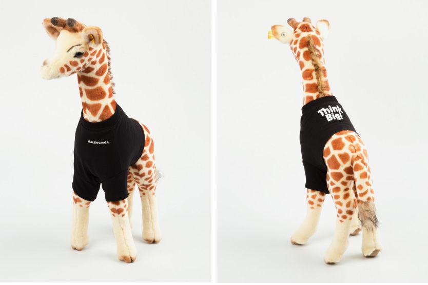 Плюшевый жираф Balenciaga