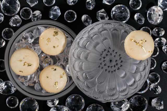 Печенье в хрустальной шкатулке Lalique