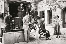 Съемочная площадка MGM в Голливуде, 1929 г.