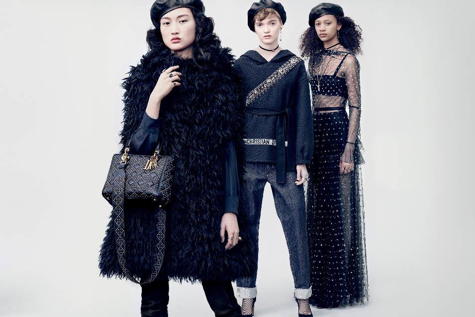 Рекламная кампания Dior осень-зима 2017/18