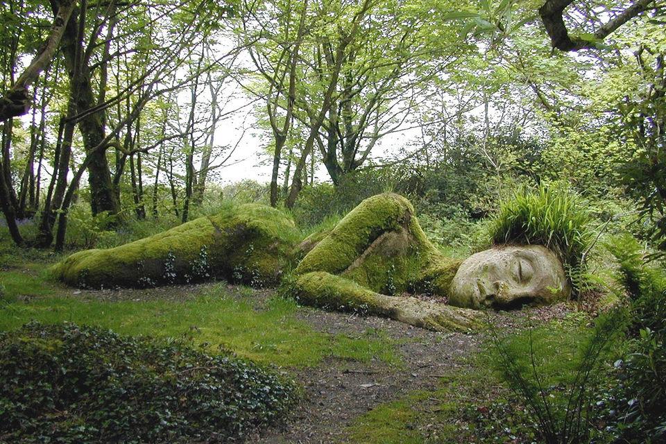 Один из уголков в «Затерянных садах Хелигана»