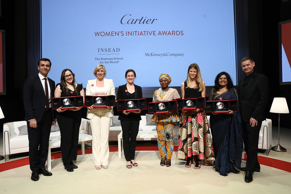 Финалисты Cartier Women's Initiative Awards 2017