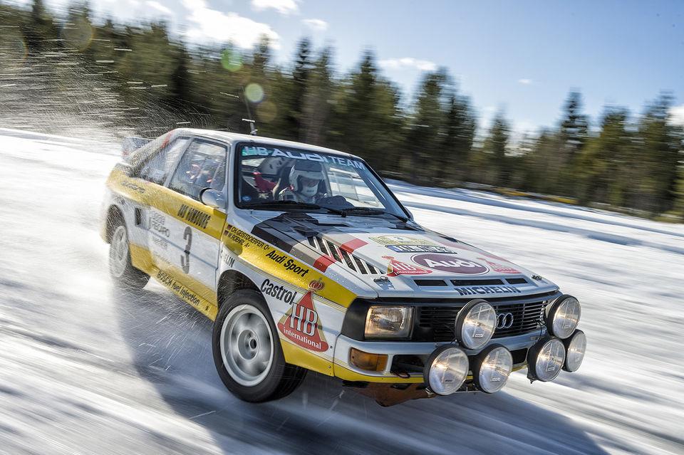 Audi Sport Quattro Rallye, 1984 г.