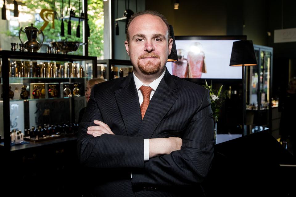 Марко Видал, владелец бренда The Merchant of Venice, представитель четвертого поколения парфюмерной династии