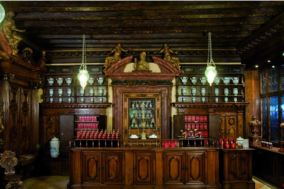 Венецианский музей парфюмерии, открылся в палаццо Мочениго в 2012 году.