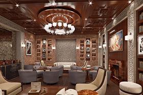 Сигарная комната в Grand Hotel Kempinski Riga
