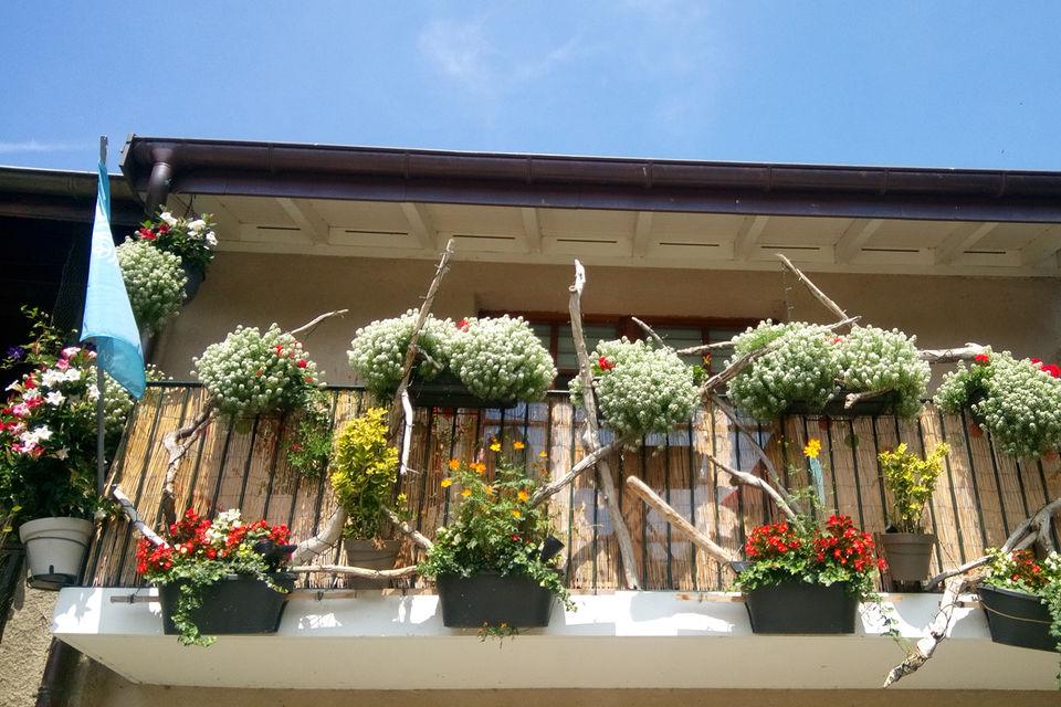 Балкон частного дома