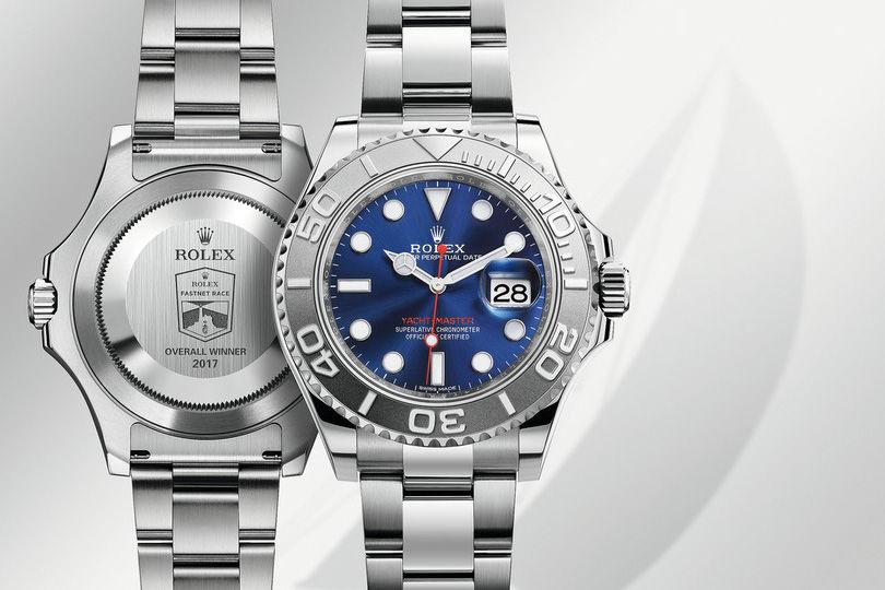Награда победителя: часы Rolex Oyster Perpetual Yacht-Master II