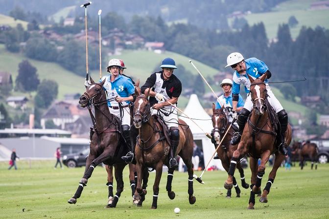 Турнир Hublot Polo Gold Cup каждое лето проходит на швейцарском курорте Гштаад