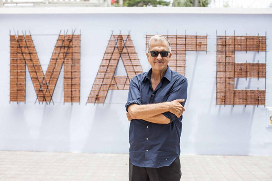 Марио Тестино в музее MATE в Лиме, 2017 год