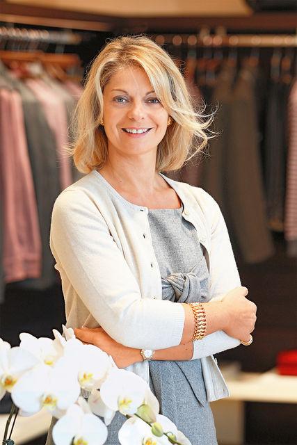 Элизабетта Канали - внучка основателя марки и PR-директор Canali