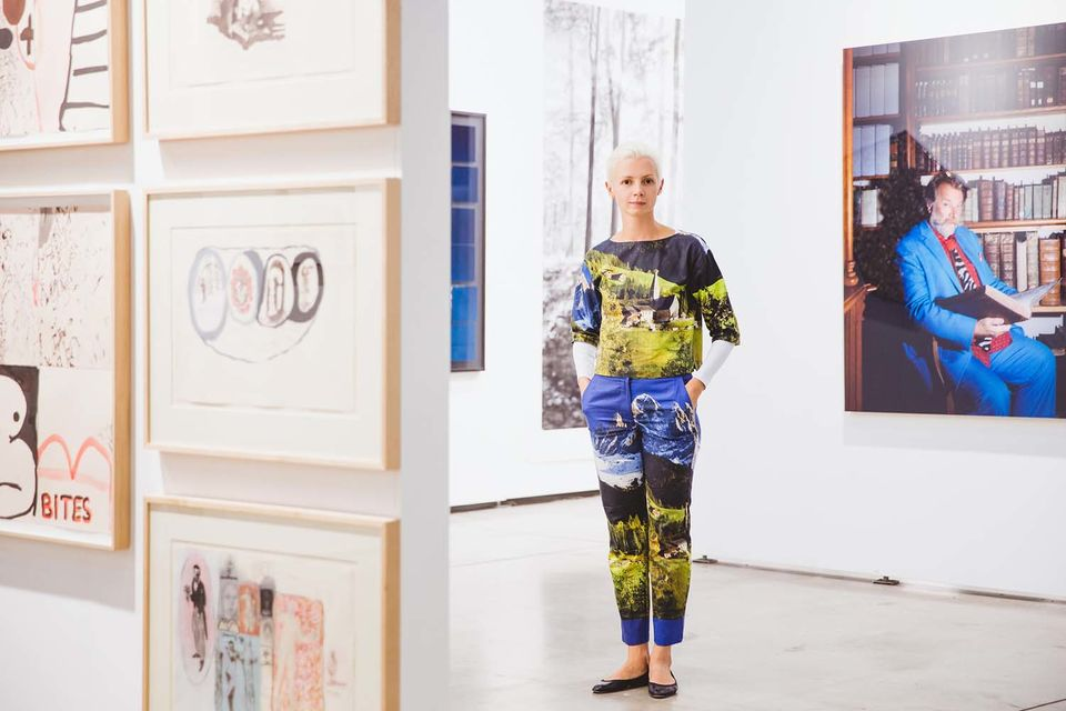 Кристина Штейнбрехер-Пфандт, арт-директор Международной ярмарки современного искусства viennacontemporary (Вена)