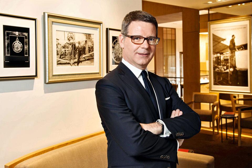 Пьер Райнеро вот уже 14 лет отвечает за стиль коллекций Cartier