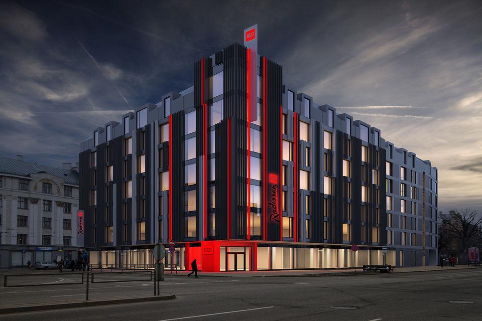 Отель будет расположен на улице Элизабетес в центре Риги