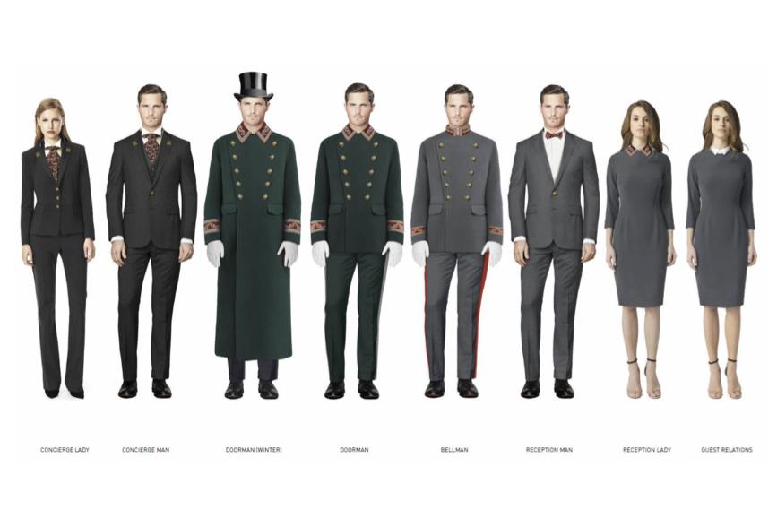 Дизайн новой униформы сотрудников «Метрополя» вдохновлен историческим костюмом начала XX века