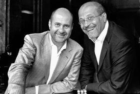 Братья Альбер и Жан Богоссяны, совладельцы ювелирного бренда Boghossian и соучредители Boghossian Foundation
