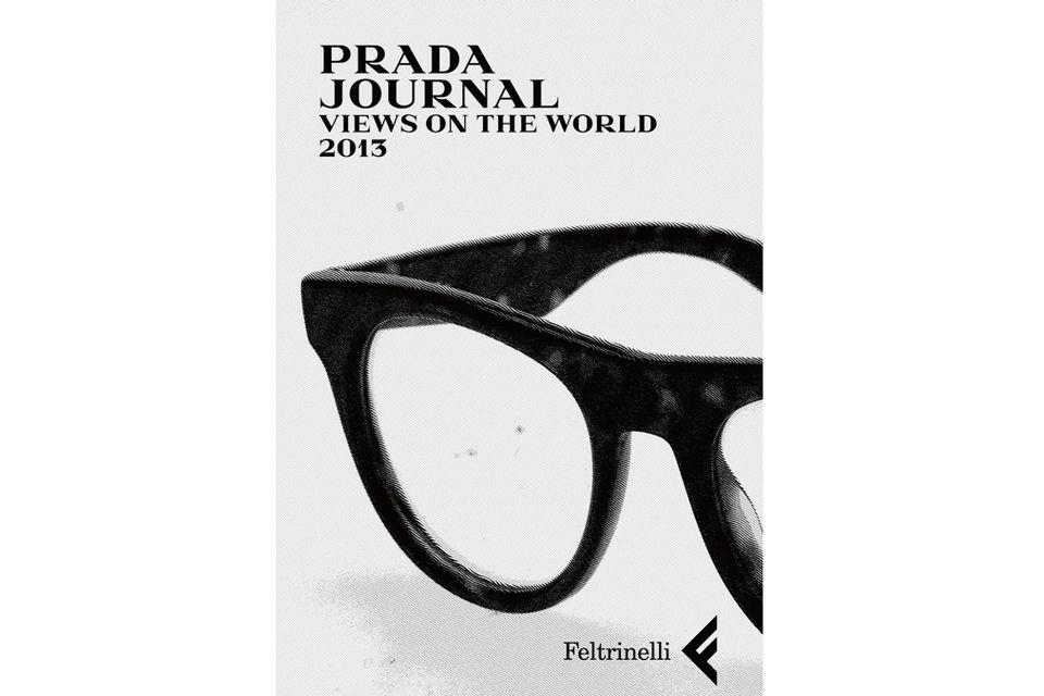 Обложка электронного издания Prada Journal за 2013 г. – в нем публикуют произведения победителей Prada Feltrinelli Prize