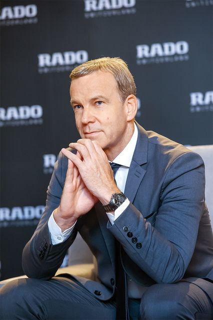 Матиас Брешан, президент Rado, возглавляет бренд шесть лет