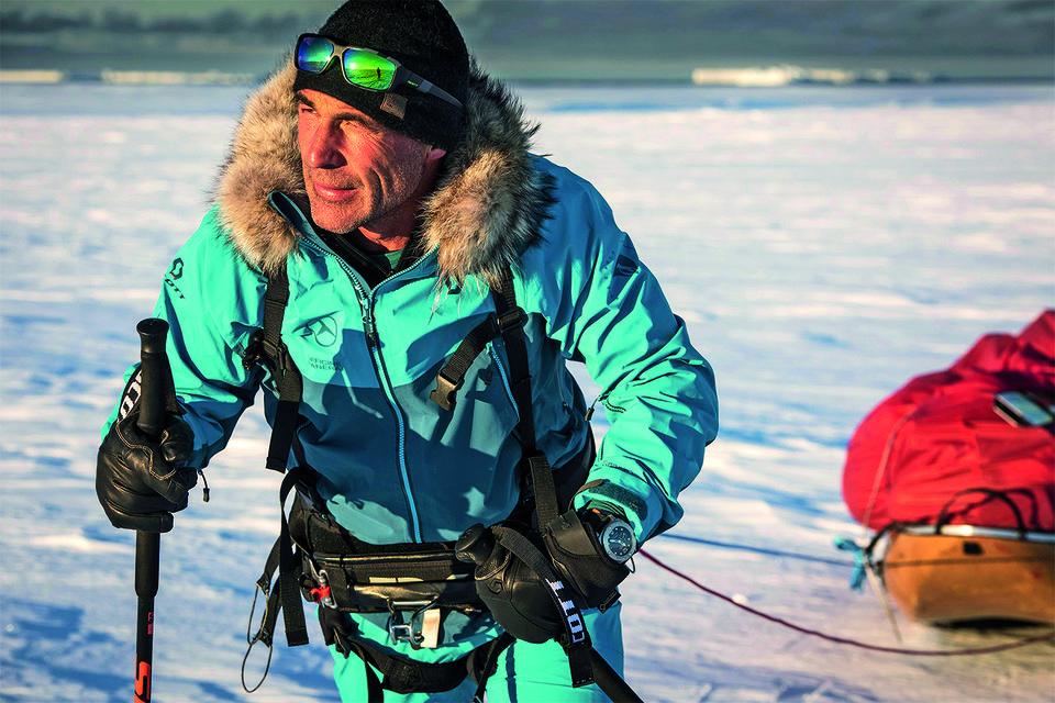 Исследователь прошел льды Антарктики, и теперь его ждет Арктика