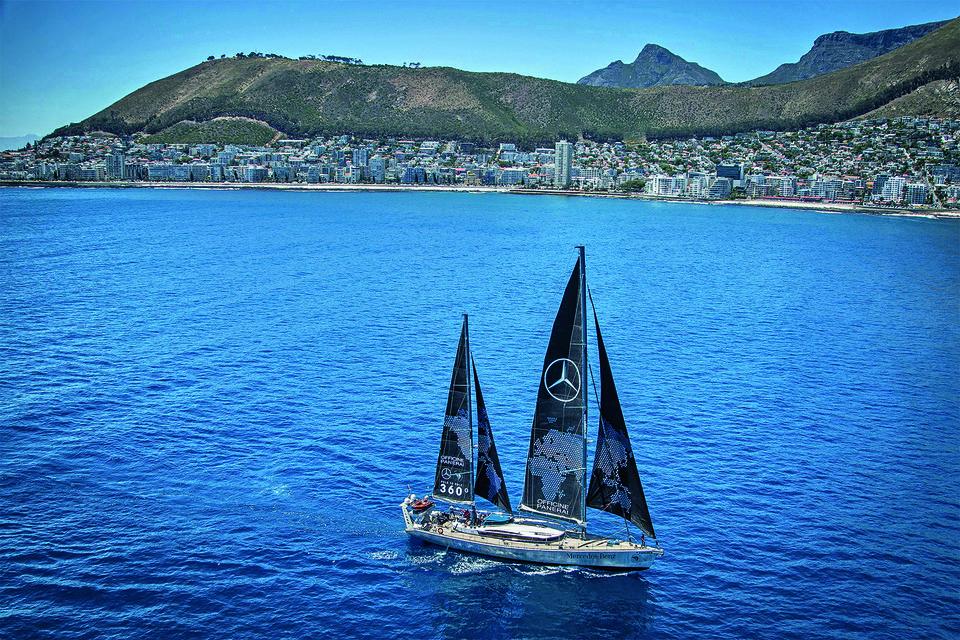 Морскую часть маршрута экспедиции Pole2Pole Майк Хорн пройдет на своей яхте Pangаea, которая была проверена им в другой экспедиции 2008–2012 гг.