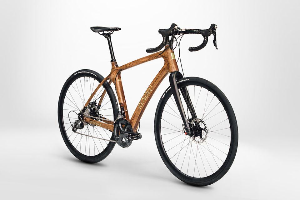 Для создания новой модели велосипеда были использованы бочки из-под виски