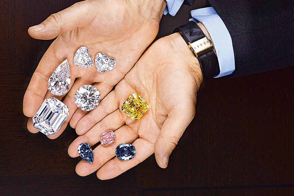 Через руки Лоуренса Граффа прошли самые известные и крупные бриллианты в  мире